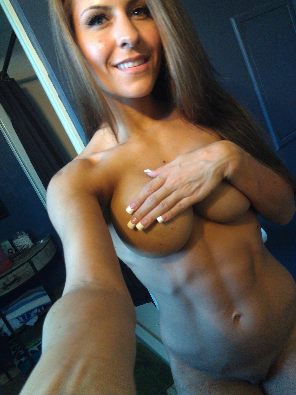 Self shots of fitness girls nude, old strecth pussy