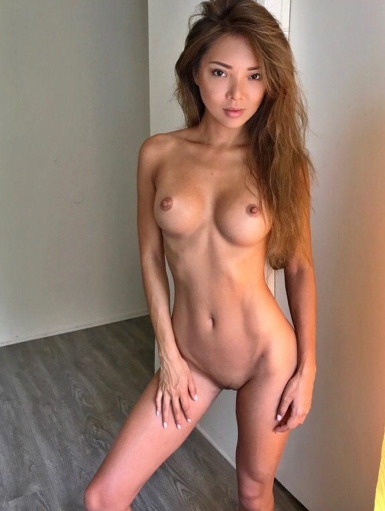 Skinny Asian Teen Nude