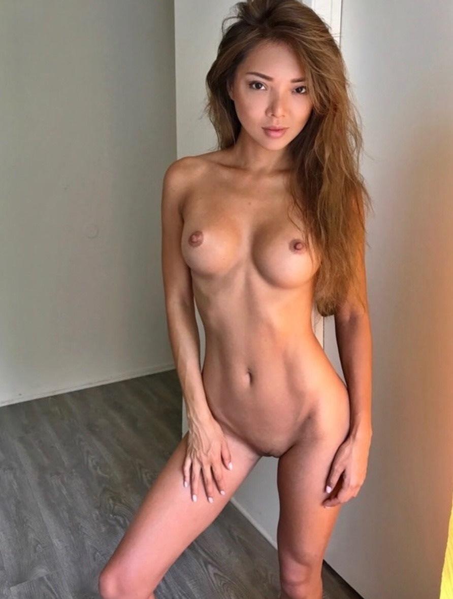 Thin nude asian women